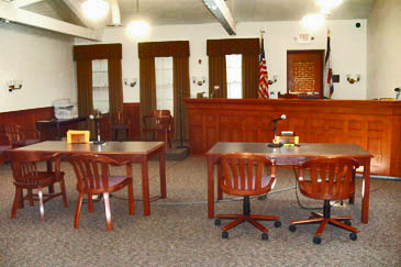 Jefferson County Family Courtroom